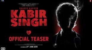 Kabir Singh Movie Songs Lyrics – MovieHungama