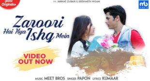 Zaroori Hai Kya Ishq Mein Song Lyrics – Meet Bros