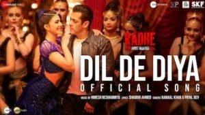 DIL DE DIYA – Radhe   New Song
